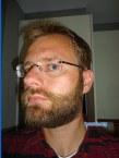 William's beard progression: the full beard takes shape.