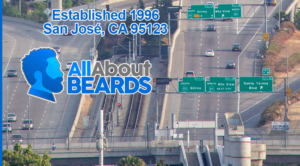 All About BEARDS, established 1996, San José, CA 95123