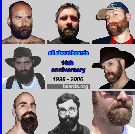 All About BEARDS tenth anniversary beard showcase image