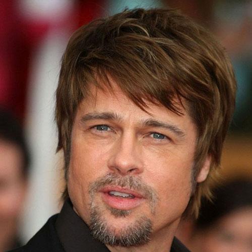 Brad Pitt Beard Beard Styles Today 2017