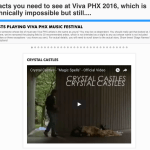 Bear Ghost at Viva Phx 2016