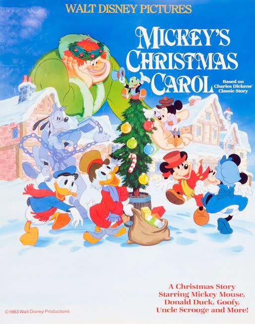 Mickey Christmas Carol Mickeys