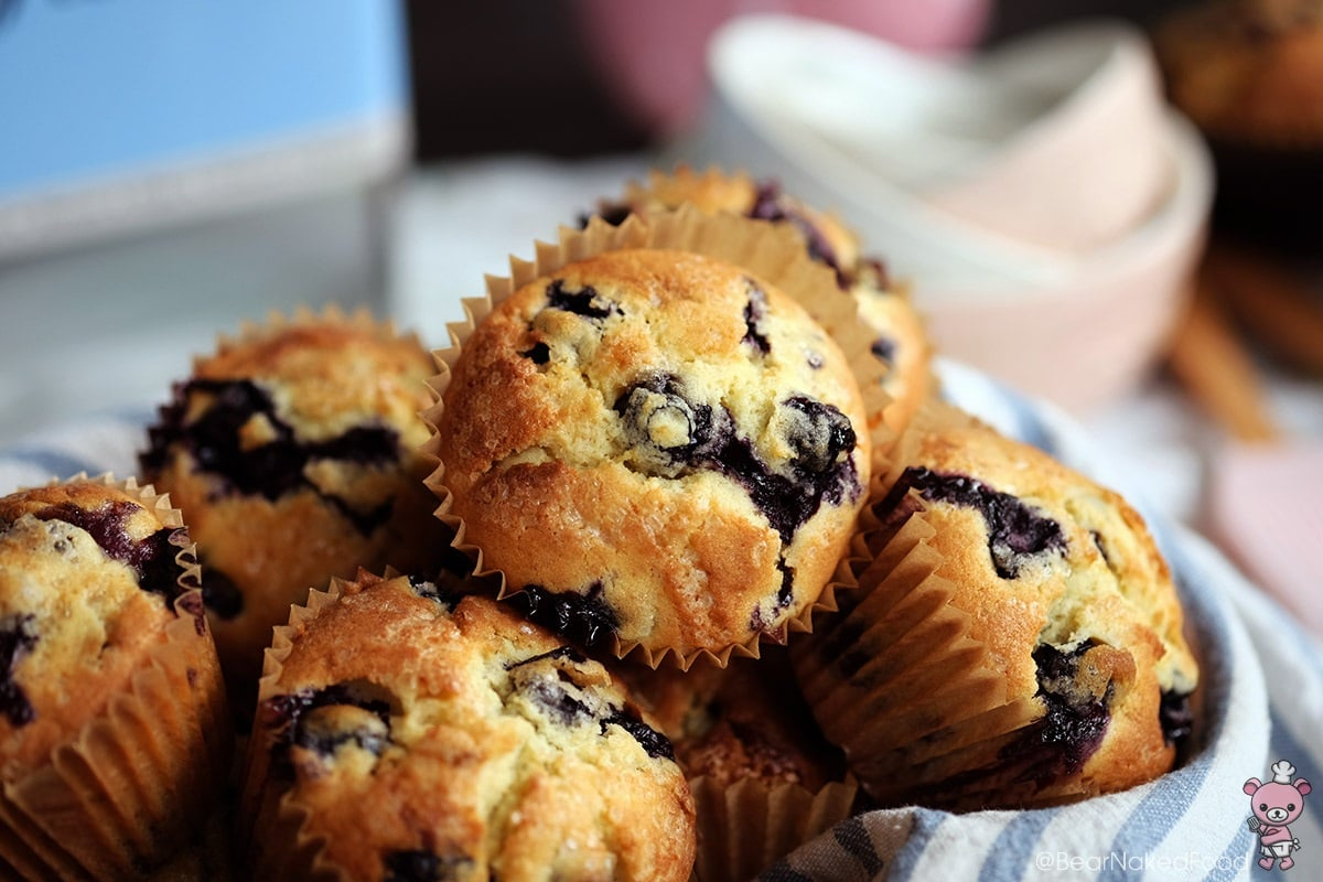 Best Blueberry Muffins Bear Naked Food