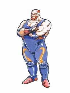 Fatal Fury 2 (primeira aparição com o nome de Big Bear)