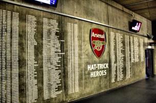 2012_33 - Hat trick heroes, Emirates Stadium, London
