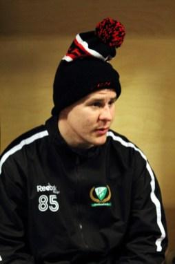 """2012_91 - Micke J med """"snygg"""" mössa"""
