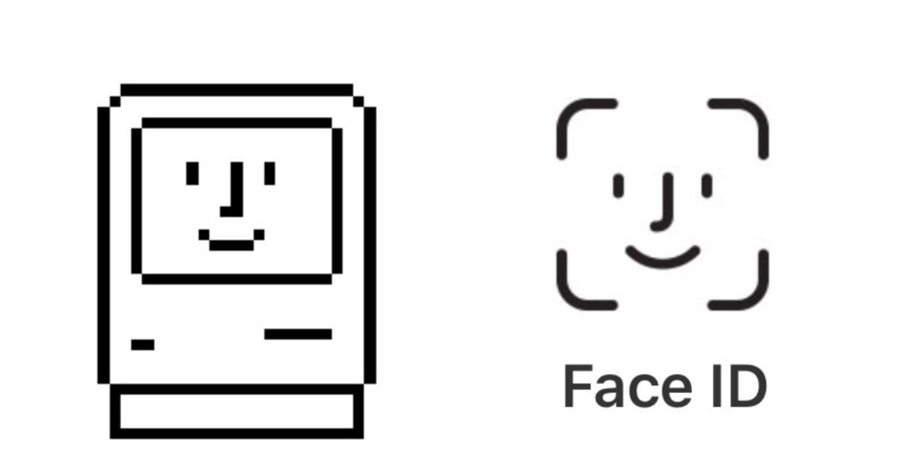 Face Id Happy Mac