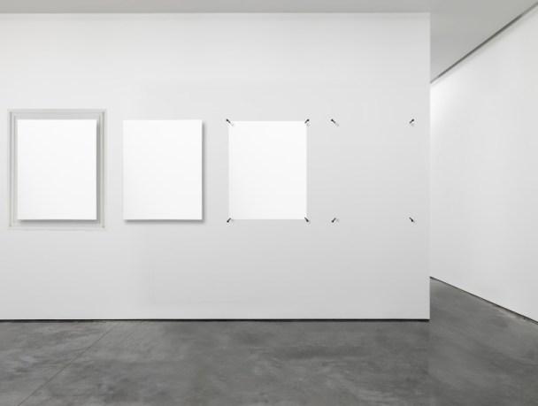 Dematerializationin5steps 2014, Wood, Canvas, Metal 0,80 m x 1 m