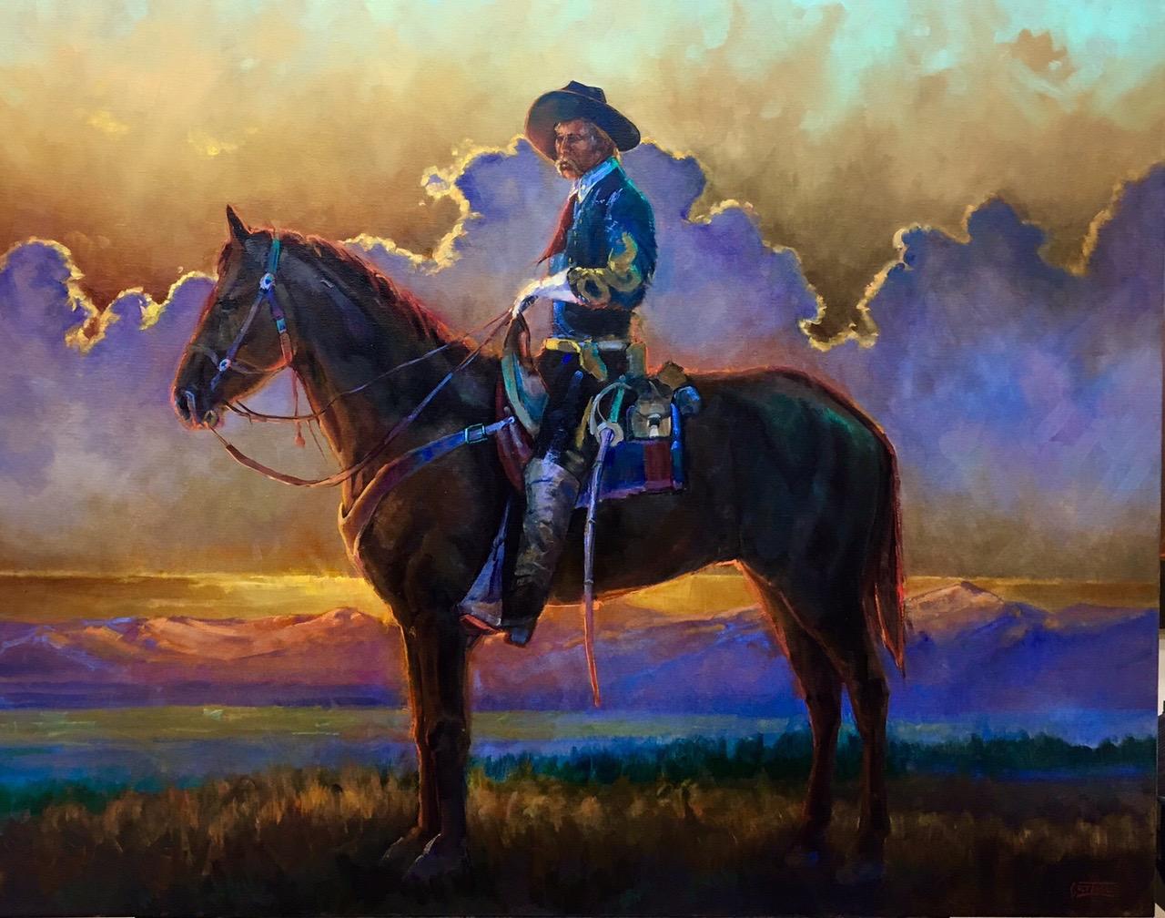 Custer Commission Colt Idol