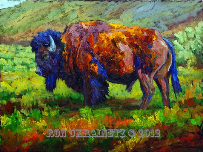 Prairie Loner by Ron Ukrainetz