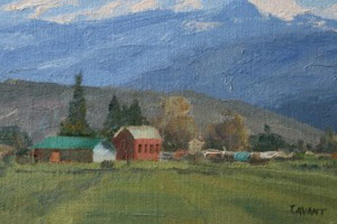 Utah Farm by Tracy Avant