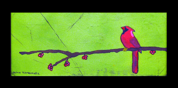 Birds-n-Berries 2 by Echo Ukrainetz