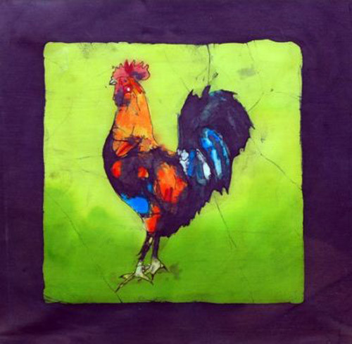 Chicken Batiks by Echo Ukraintz