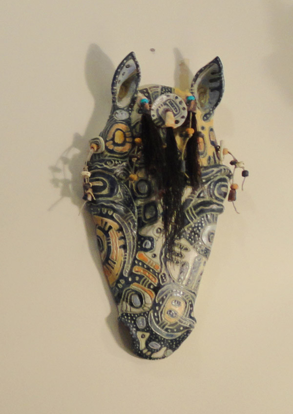 Horse Mask III by Christine McKay