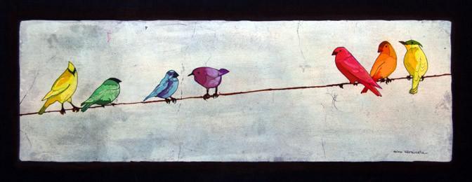 On Line - Batiks by Echo Ukrainetz