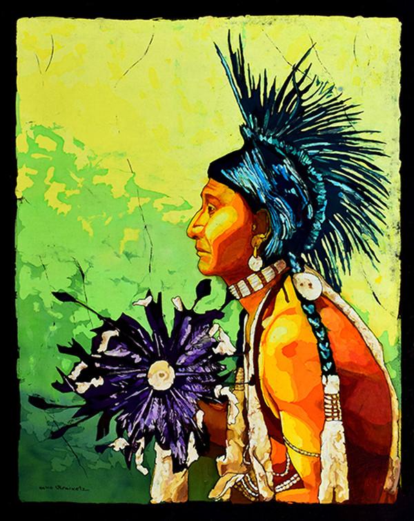 Peepin Cree by Echo Ukrainetz