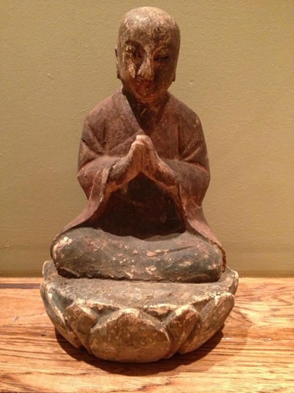 Wood Luohan Monk