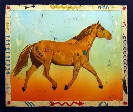 War Horse (awahkaootsilyssin ponokaomitaa) by Echo Ukrainetz