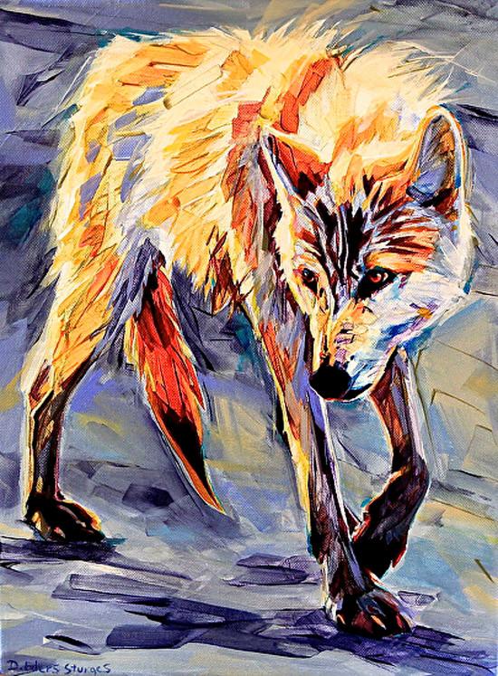 White Wolf Dream by Debbie Edgers Sturges