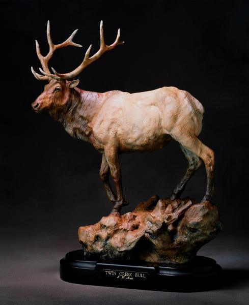 Twin Creek Bull by Jack Muir
