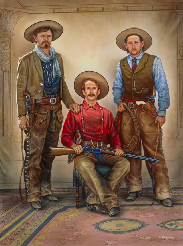 the Cowboys 1881 by Jerry Crandall