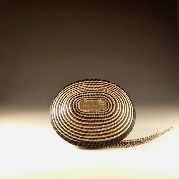 Zandunga Horsehair basket by Jane Chavez