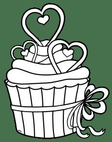 val_hearts-hearts-cupcake-BW-PNG