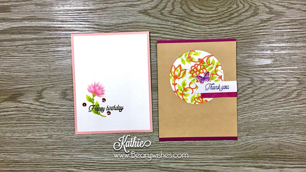 canadian stampin up demonstrator, stampin up, paper pumpkin, paper pumpkin November 2017, paper pumpkin Nov 2017, alternate paper pumpkin, paper piecing, card making, card making Canada, paper crafting, paper crafting Canada, stamping up demonstrator, Kathie zaban, bearywishes, stampinkathie, stampin Kathie, Stamping, card making Canada, November paper pumpkin, December alternate, December alternative, Paper Pumpkin December 2017, Paper Pumpkin Dec 2017, Flora and Flutter, alternatives, alternates, birthday card, thank you card,