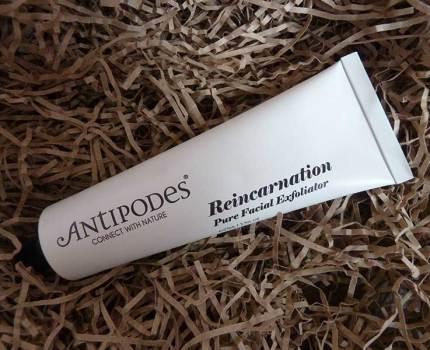 Review: Antipodes Reincarnation Pure Facial Exfoliator