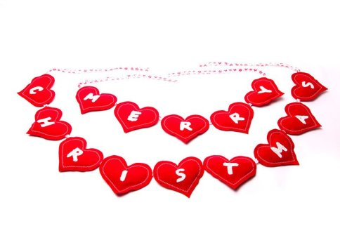 Christmas-decorations---Merry-Christmas-red-heart-bunting-PS