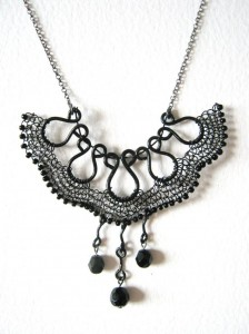 VN1. Alessandra necklace: Vintage Noir collection, Alessandra necklace, £60