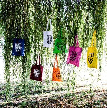 Beast Records Tote Bags
