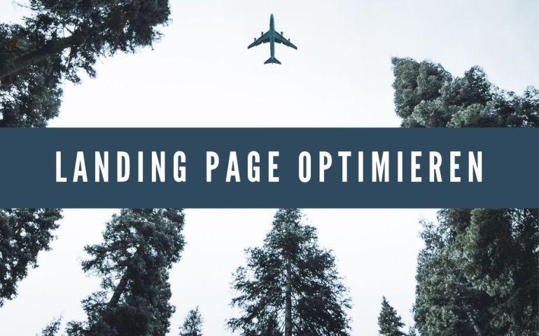 Landing Page optimieren