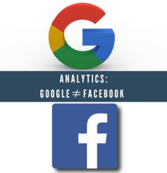 Unterschied zwischen Facebook und Google Analytics