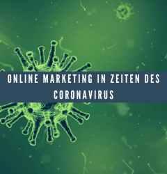 Online Marketing Coronavirus