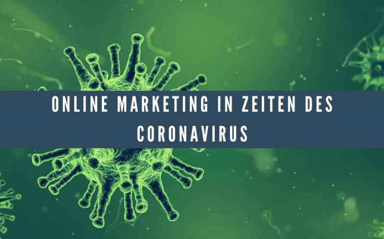 Online Marketing Coronavirus