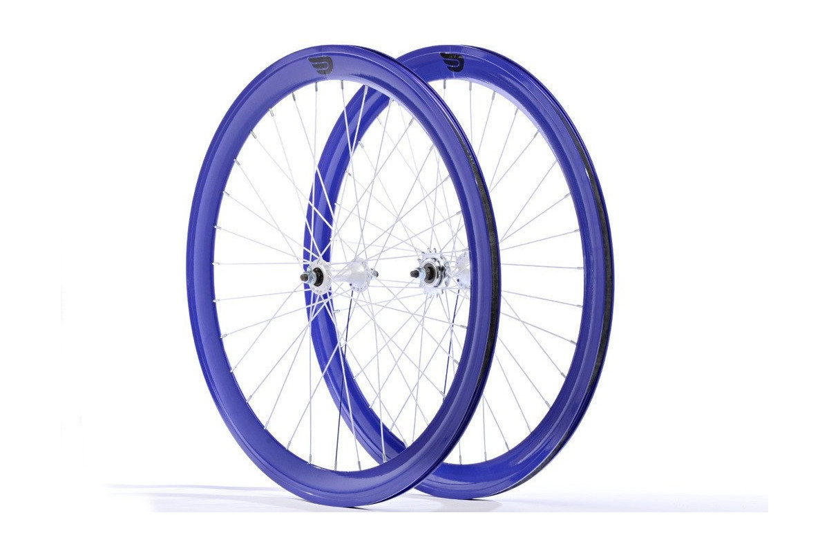 roues a rayons fixie pure fix 700c 40mm