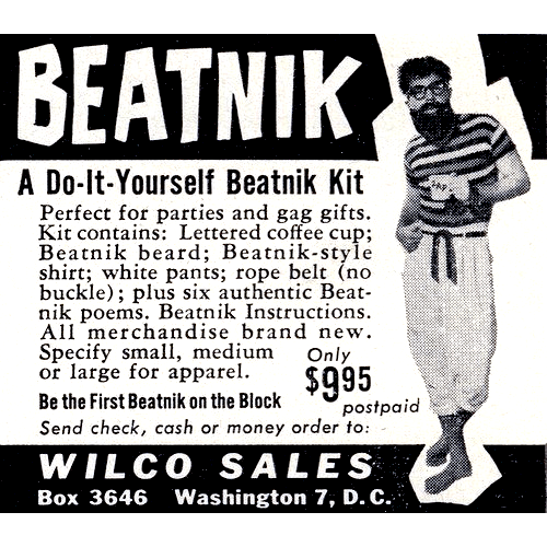 Image result for beatnik