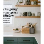 Designing your green kitchen