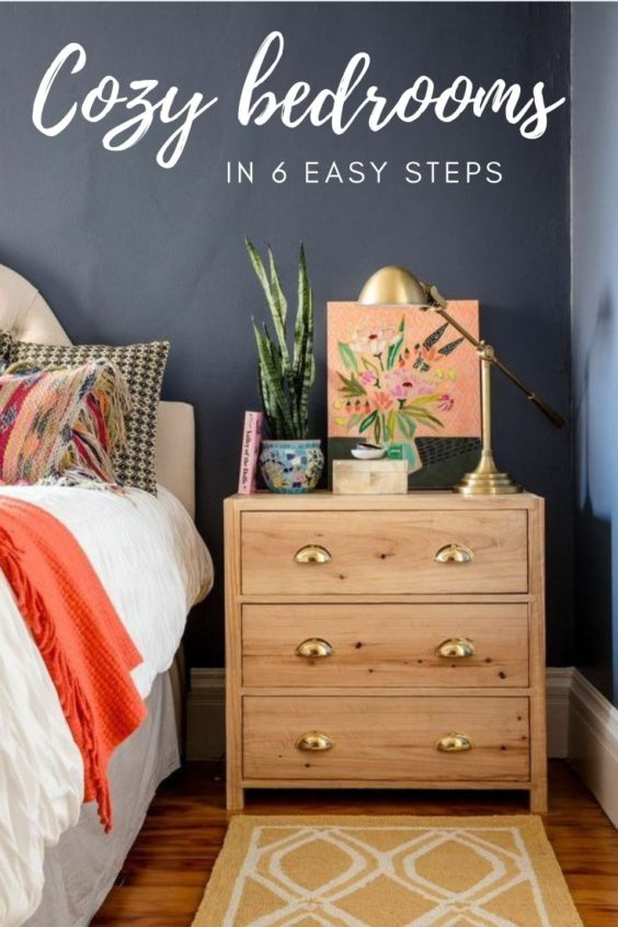 How to make a bedroom cozy in 6 easy ways