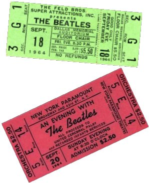 Beatles tickets