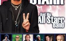 Poster for Ringo Starr's concert in Flensburg, Germany, 9 June 2018