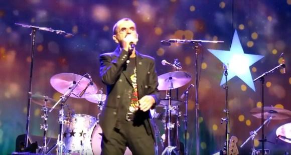 Ringo Starr live in Bilbao, Spain, 1 July 2018