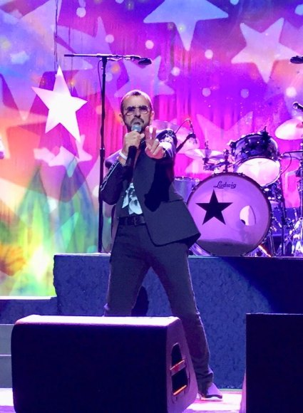 Ringo Starr live at Stephens Auditorium, Ames, Iowa, USA, 5 September 2018