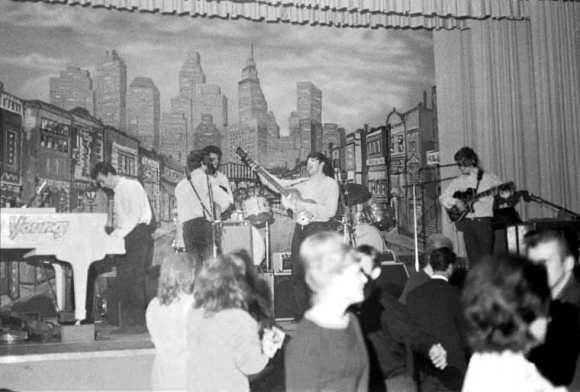 The Beatles at the Star-Club, Hamburg, 1962, with Roy Young on piano