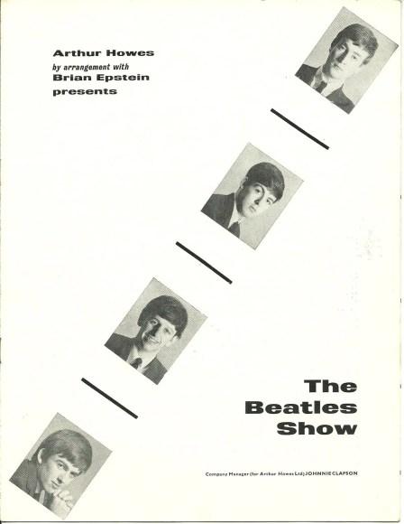The Beatles' 1963 winter tour programme