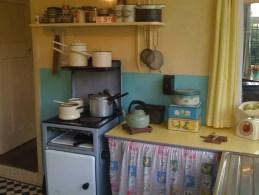 Kitchen of 'Mendips', 251 Menlove Avenue, Liverpool