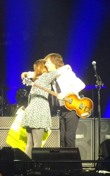 Paul McCartney and Sarah Lindenbaum, 12 September 2017