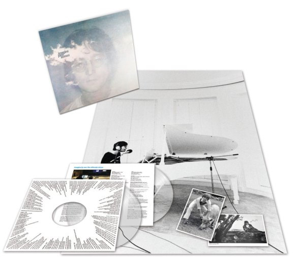John Lennon –Imagine clear vinyl (2018)