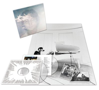 John Lennon – Imagine clear vinyl (2018)